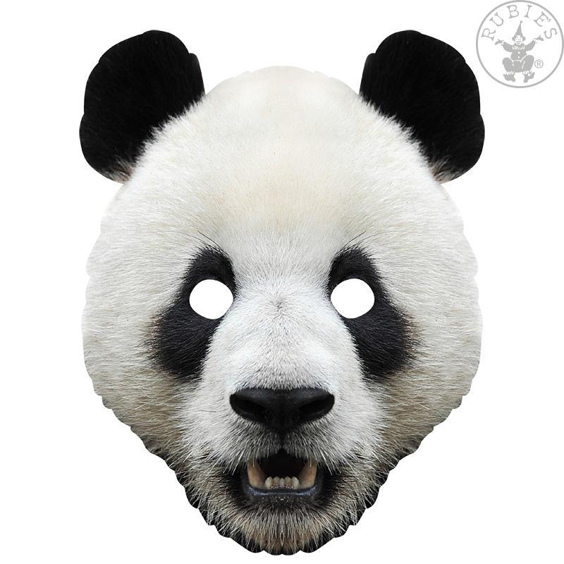 Panda Tier Maske 2d Gesichtsmaske Pappe Karneval Geburtstag Theater