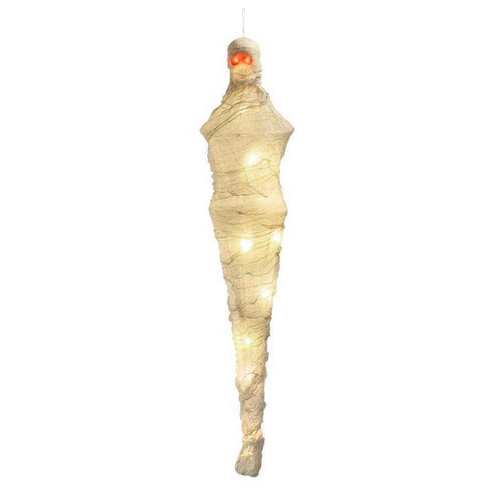 Hangende Mumie Deko Leiche Led Augen Und Korper Halloween Ca 120 Kaufen Bei Preiswert123