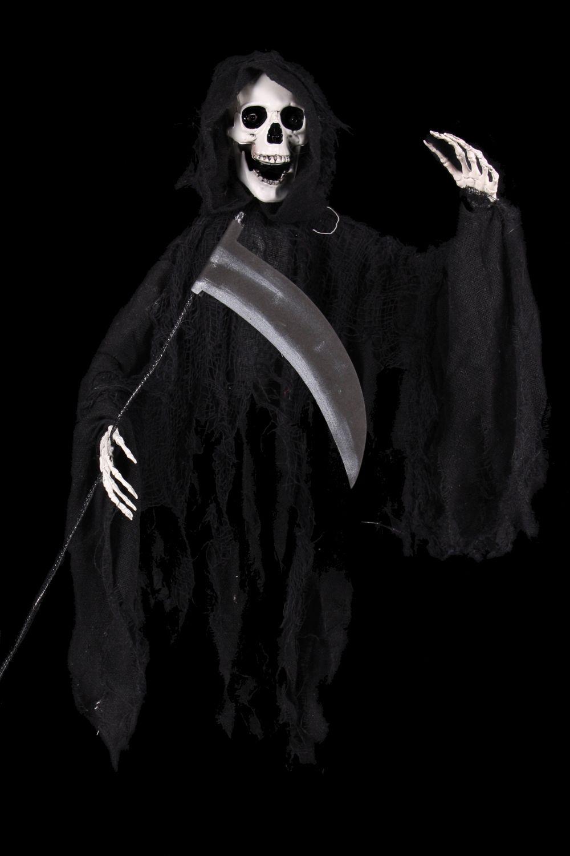 Animierter Horror Clown Mit Leuchtenden Augen Halloween Deko Figur 40 Cm Grusel