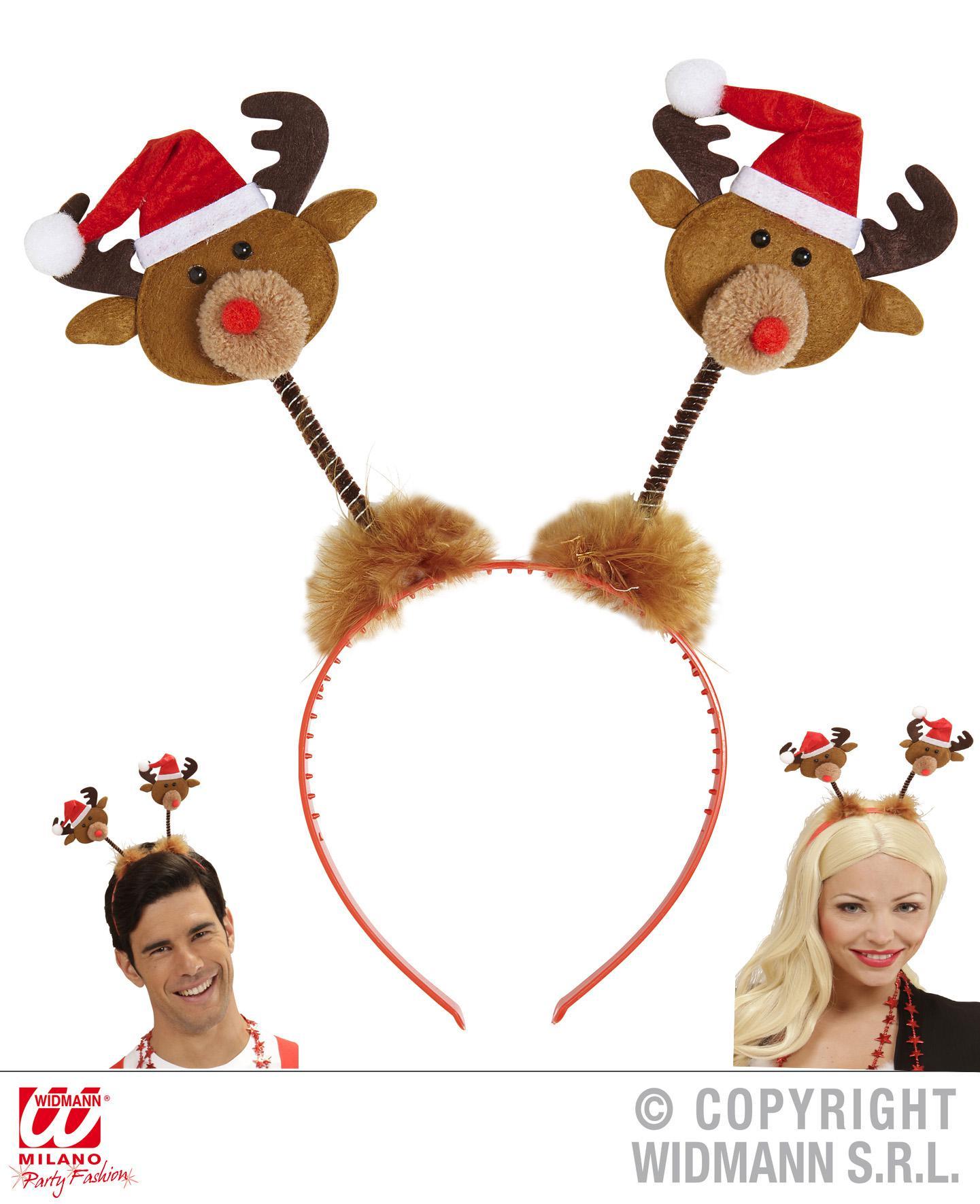 Bilder Rentiere Weihnachten.Haarreif Rentiere M Mütze Weihnachten Kopfschmuck 151