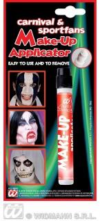 Make up Schmink Applicator SCHWARZ, Teufel, Hexen, Fan Farben, WM EM