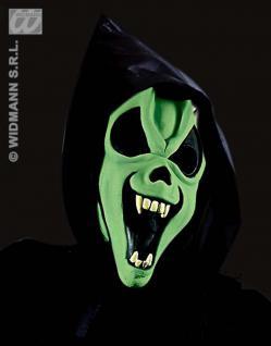 Scream Geist Maske + Hut + Haare, Grusel, Halloween , Horror - Vorschau 5