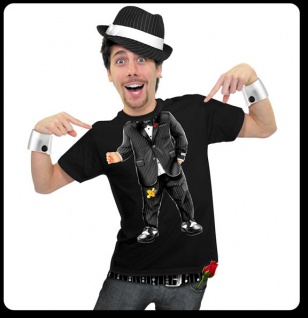 FUN T-Shirt Baby Godfather Herren ---M