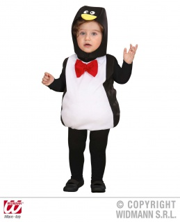 2 tlg. Pinguin Kostüm, Kinder Gr. 80-86. 1-2 Jahre, Karneval 1895 - Vorschau 2
