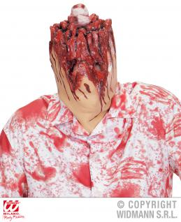 Maske abgeschnittener Kopf Vollmaske Herren Horror Halloween