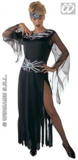 4-tlg. Fantasy Galaxy Kostüm, Damen, Tüll Fledermausärmel Gr M