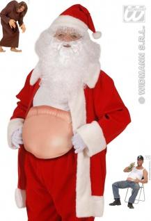 Dicker Bauch, aufblasbar, Weihnachtsmann, Buckel, Bierbauch, 8543