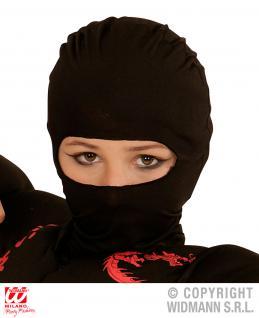 Ninja Samurai Stoff MASKE passend zum Kostüm Kinder