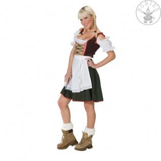 Dirndl m Bluse Tirolerin Oktoberfest Trachten Damen ---36