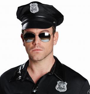 Polizei Cop, Piloten Brille, verspiegelt, Sonnenbrille Damen Herren