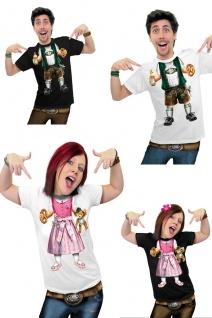 FUN T-Shirt BABY Bayer ---weiß S Lederhose