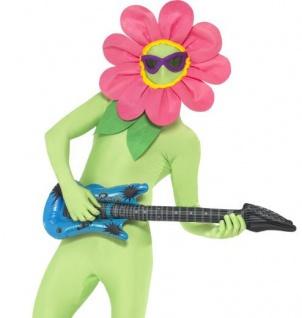 Tanzende Blume + Gitarre, Zubehör zum Ganzkörper Anzug Second Skin