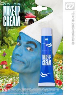 Schminke Make up, Tube BLAU, Wichel, Zwerge, Gnom Karneval 4021