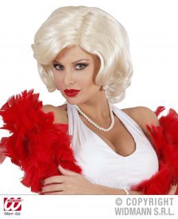 60er Jahre PERÜCKE, Marilyn Damen Karneval Mottoparty blond - Vorschau 1
