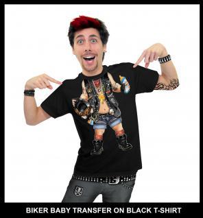 Fun T-shirt Baby Bikerin ---s = Damen - Vorschau 3