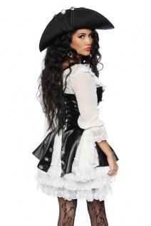 4 tlg Piratenkostüm Damen Komplett hochwertig Damen Gr. XS-34-176 - Vorschau 3