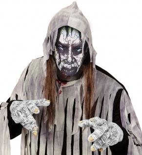 Zombie Maske, dünne Stoff Maske, Gesichtsmaske Halloween Effekt