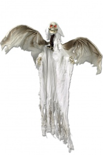 Zombie Ghul Skelett Figur Sound animiert Deko Halloween 110 cm