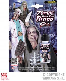 dunkelrotes Zombieblut GEL Theaterblut, Blut Flasche HALLOWEEN