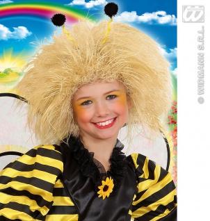 Perücke Kinder, Struwel BLOND, Märchen, Fee, Biene, Karneval - Vorschau 1