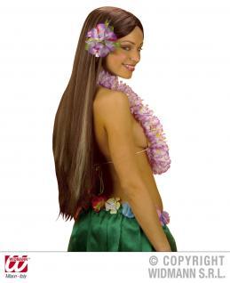 Hibiskus Spange, Blume, Hawaii XL ---gelb - Vorschau 4