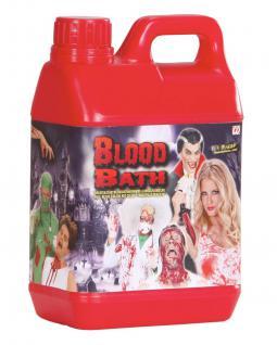 Blut- KANISTER Theaterblut Kunstblut 2 Liter Halloween Deko 4025