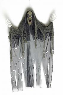 Tod, Skelett Figur Deko Hängefigur schaurig schwarz 85x70 Halloween