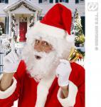 Weihnachtsmann-Perücke, Perücke Locken m. Bart u. Augenbrauen 1530