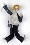 Geist, Totenkopf ANIMIERT Skelett Halloween Grusel Deko 48x15