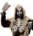 Teufel Todes Maske hauchdünne Stoff Maske, Gesichtsmaske Halloween