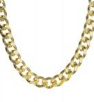 Goldkette schwer 80er Jahre, ca 60 cm lang, Ganster, Rapper, Scheich 2667