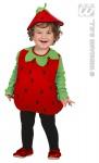 2 tlg. Kostüm Erdbeere , Kinder Gr. 80-86. 1-2 Jahre, Karneval 1893