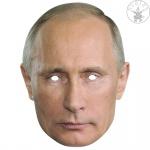 Putin 2D Maske Gesichtsmaske Promi Politiker, Augenlöcher