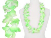 Hawaiikette Hawaikette Blumenkette Textilblüte Regenbogen mint grün 1 m