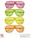 Neon Brille, 80er Jahre, Venezianisch