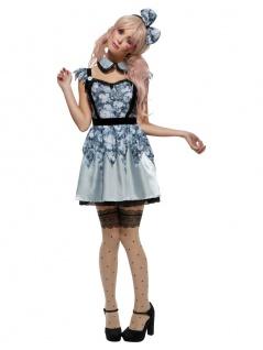 3 tlg. Puppe Doll Kostüm Damen