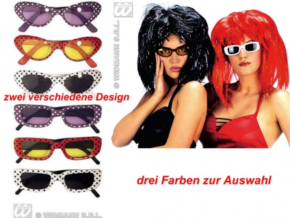 Retro Brille, 50er 60er Jahre