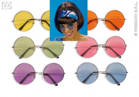 Hippie Brille, 60er-70er, RUND Sonnenbrille