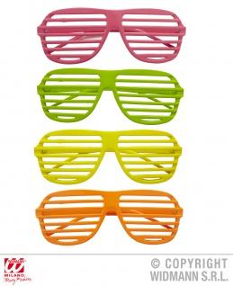 Neon Brille, 80er Jahre, Venezianisch - Vorschau 1
