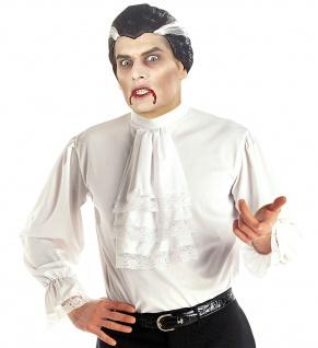 Dracula Vampir Rüschen Hemd