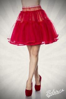 bauschiger Petticoat ROT