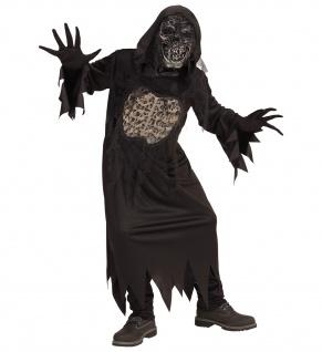 DÄMON Zombie Skelett Kostüm