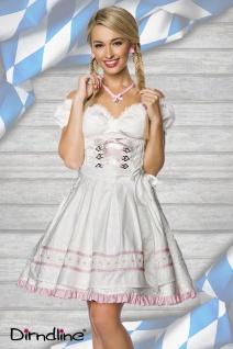 Dirndl Kleid Kostüm WEISS