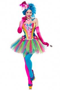 7 tlg Candy Zucker Girl Kostüm Damen verspielt süss S-3XL