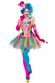 7 tlg Candy Zucker Girl Kostüm
