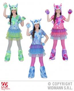 Monster Girl, Gr. 140, 158, Mädchen, Karneval