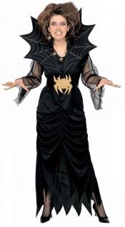 Schwarze Witwe, SPINNEN Kostüm Damen. Gr. S, M, L, XL 3940