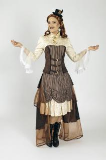 3 tlg. Steampunk Gothic Kostüm