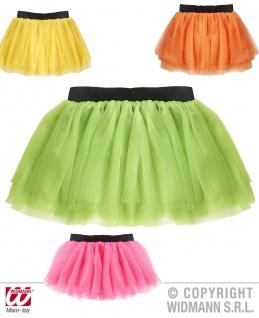 Tütü Tutu, 3 lagig Petticoat NEON