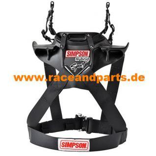 Simpson Hybrid Sport HANS Kopf-Rückhalte-System FIA 8858-2010 - Vorschau